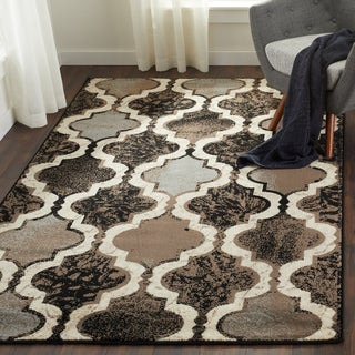 Superior Modern Viking Area Rug (4' x 6') - 4' x 6'