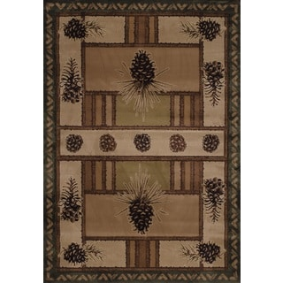 United Weavers Contours Pine Barrens Beige Area Rug (12'6 x 15')