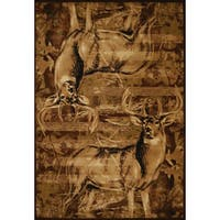 United Weavers Contours American Buck Area Rug (9'2 x 12'6) - 9'2 x 12'6