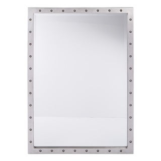 Reid Beveled Silver Finish Mirror