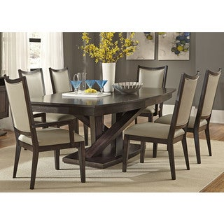 Southpark Charcoal Contemporary 48x84 Pedestal Dinette Table