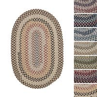 Vintage Farmhouse Multicolor Braided Reversible Rug USA MADE - 3' x 5'