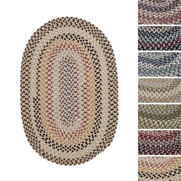 Colonial Mills Vintage Farmhouse Wool Blend Braided Rug