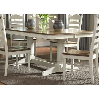 Springfield Farmhouse 42x102 Double Pedestal Dinette Table
