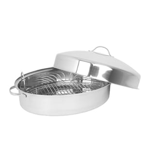 Oneida Stainless Steel Roaster With Domed Lid