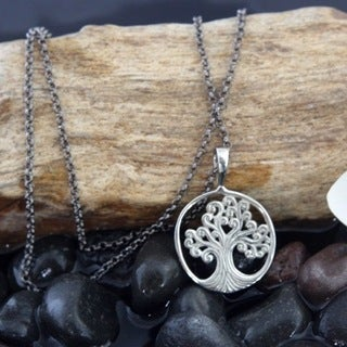 Spirit Tribal Fusion 'Tree of Life' Pendant Necklace (Bali)