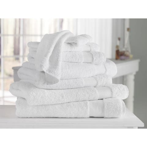 Kansas Hotel Collection 100-percent Turkish Cotton Hand Towels (Set of 4) - 16x28 inches