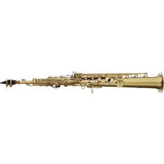 Stagg Straight Body Bb Soprano Saxophone with Hard Case Included