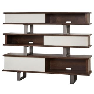 A.R.T. Furniture Epicenters Silver Lake Brown Wood Console Table