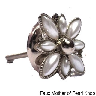 Handmade Bazaar Cabinet Knobs (Option: Faux Mother of Pearl Knob)