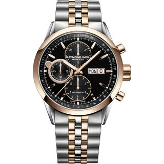 Raymond Weil Men's 7730-SP5-20111 'Freelancer' Chronograph Automatic Stainless Steel Watch