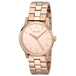 Nixon Women's A361-897 'Kensington' Rose-Tone Stainless Steel Watch