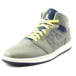 Jordan Men's Air Jordan 1 Retro '97 Txt Grey Synthetic Athletic Shoe
