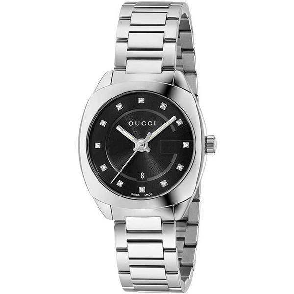 Gucci Women's 'GG2570 Small' Diamond Stainless Steel Watch