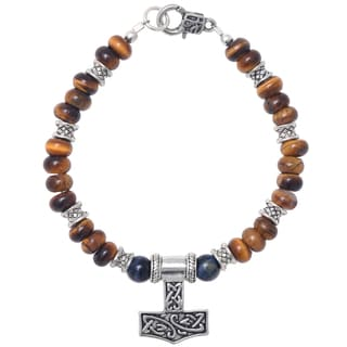 Healing Stones for You Tiger Eye Celtic Bracelet