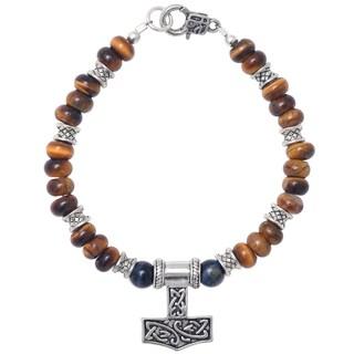 Healing Stones for You Tiger Eye Celtic Bracelet (USA)