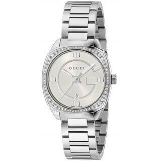 Gucci Women's YA142506 'GG2570 Small' Diamond Stainless Steel Watch|https://ak1.ostkcdn.com/images/products/13209977/P19929262.jpg?impolicy=medium