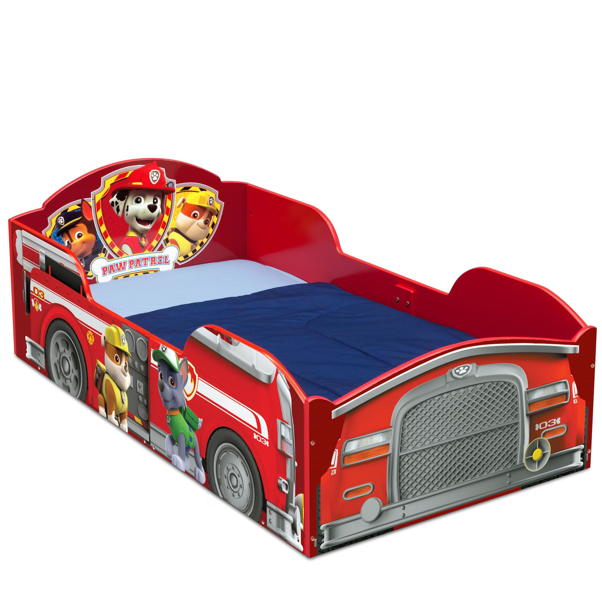 Delta Children Nick Jr. PAW Patrol Wood Toddler Bed (PAW ...