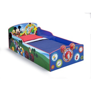 Disney Mickey Mouse Interactive Wood Toddler Bed
