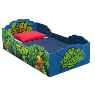 Nickelodeon Teenage Mutant Ninja Turtles Wood Toddler Bed
