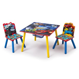 Nick Jr. Blaze and the Monster Machines Table and Chair Set with Storage