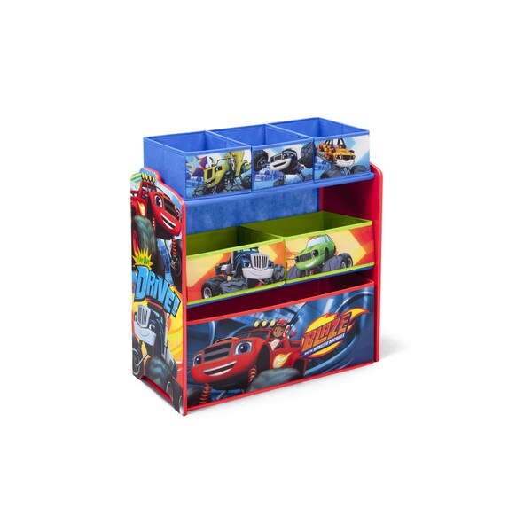 Nick Jr. Blaze And The Monster Machines Multi Bin Toy Organizer