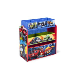 Nick Jr. Blaze and the Monster Machines Multi-bin Toy Organizer