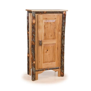 Rustic Single Pie Safe - Hickory & Oak or All Hickory
