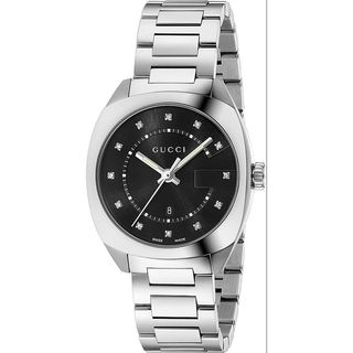 Gucci Women's YA142404 'GG2570' Diamond Stainless Steel Watch