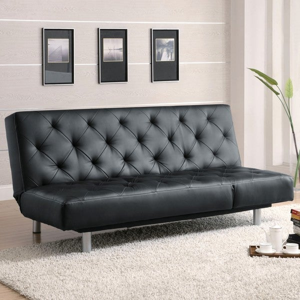 Charmant Devine Tufted Design Convertible Chaise Sofa Bed