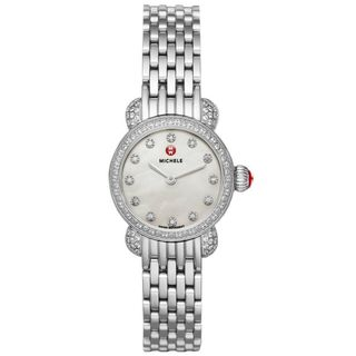 Michele Women's MWW03A000230 'CSX 23' Diamond Stainless Steel Watch