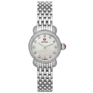 Michele Women's MWW03A000230 'CSX 23' Diamond Stainless Steel Watch