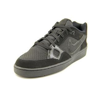 Nike Men's 'Son of Force' Black Mesh Athletic Shoes