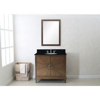 Legion Furniture 36-inch Antique Coffee Sink Vanity (Three Piece)