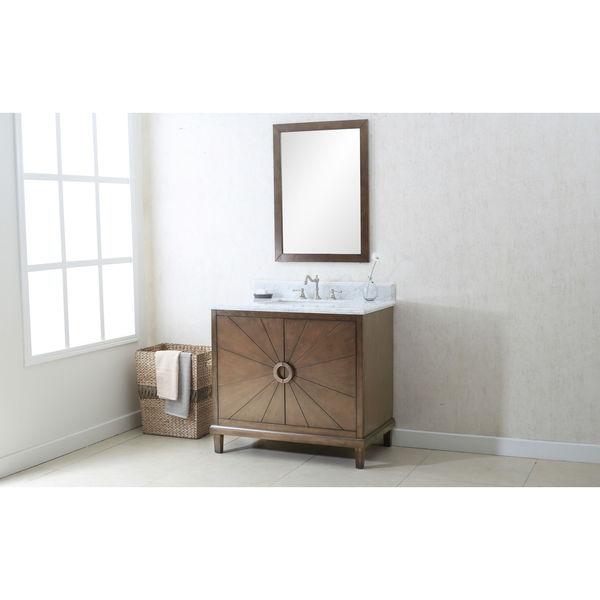 Shop Legion Furniture 36 Inch Antique Coffee Sink Vanity