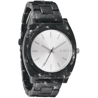 Nixon Women's A327-1039 'Time Teller' Black Acetate Watch