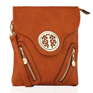 MKF Collection Chelsea Front Zipped Crossbody Bag by Mia K. Farrow