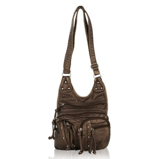 MKF Collection Travelocity Crossbody Shoulder Bag by Mia K Farrow