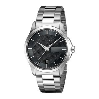 Gucci Unisex 'G-Timeless' Stainless Steel Watch