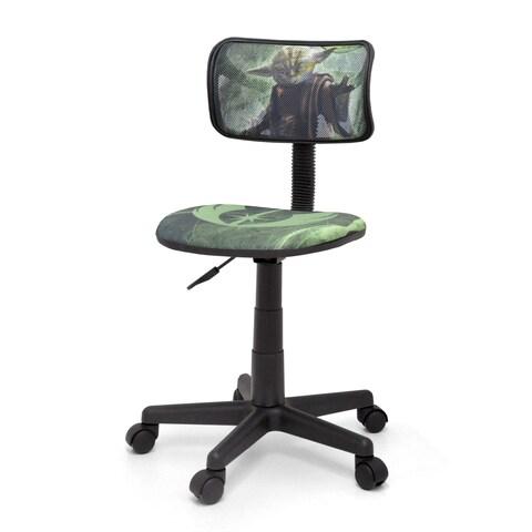 Star Wars Yoda Polyester Blend/Plastic Mesh Task Chair