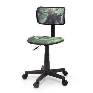 Star Wars Yoda Polyester Blend/Plastic Mesh Task Chair