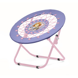 Disney 'Sofia the First' Multicolored Polyester/ Metal Web Kids Chair