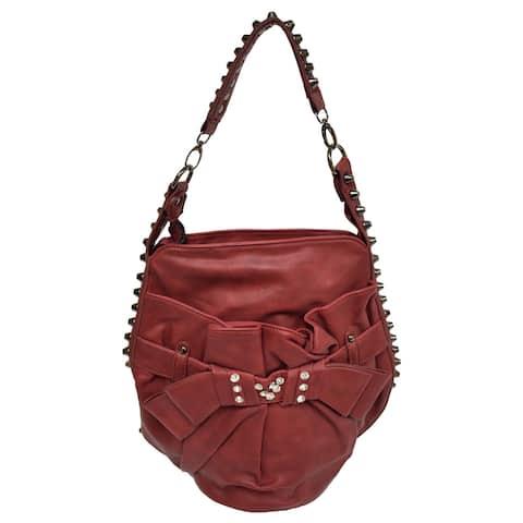Donna Bella Studded Cosmo Handbag