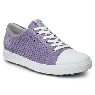 ECCO Casual Hybrid Golf Shoes Ladies Light Purple