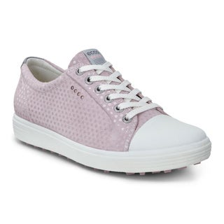 ECCO Casual Hybrid Golf Shoes Ladies Violet Ice