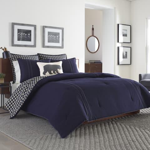 Eddie Bauer Kingston Reversible 3-piece Full/ Queen Size Comforter Set (As Is Item)