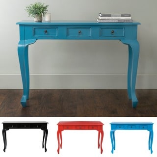 East At Main's Norma Mahogany Rectangle Console Table