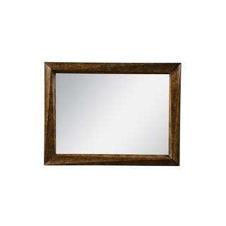 A.R.T. Furniture Echo Park Stipple Stain Wood Landscape Mirror