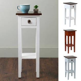 East At Main's Oxford Mahogany Square Accent Table