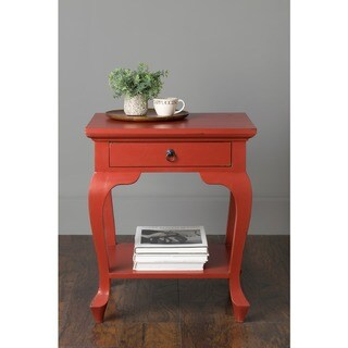 East At Main's Sargent Mahogany Square Accent Table